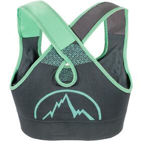 La Sportiva Focus Top Damen slate/jade green